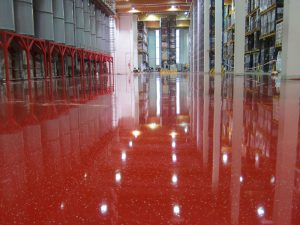 epoxy gietvloer bedrijfsvloer