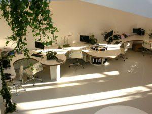 gietvloer kantoor